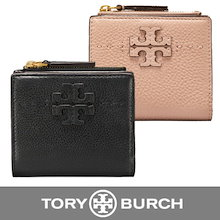 ✨一日限定♪♪✨ 【即納】 💗TORY BURCH/トリーバーチ 二つ折り財布💗 McGRAW MINI FOLDABLE WALLET
