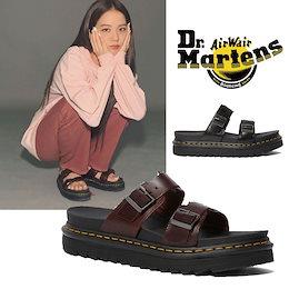 [Dr. Martens] BLACKPINK jisoo 着用 23523001 23523211 MYLES ドクターマーチン ジス サンダル レディース メンズ 韓国ファッション