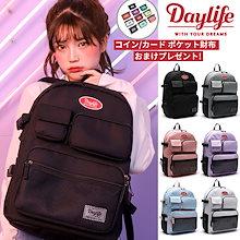 【財布おまけevent!!】【2019NEW!!】【人気商品再入庫!!!2019 UPGRADE!!】★[Day Life] Multi Pocket Backpack デーライフマルチ Q