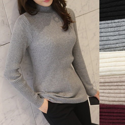 【ClicknFunny]リモンド段ボール半ポーラニットkorea fashion style free shipping