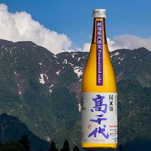 【新潟県限定酒】髙千代 純米酒 火入れ 紫 Pasteurized sake 720ml
