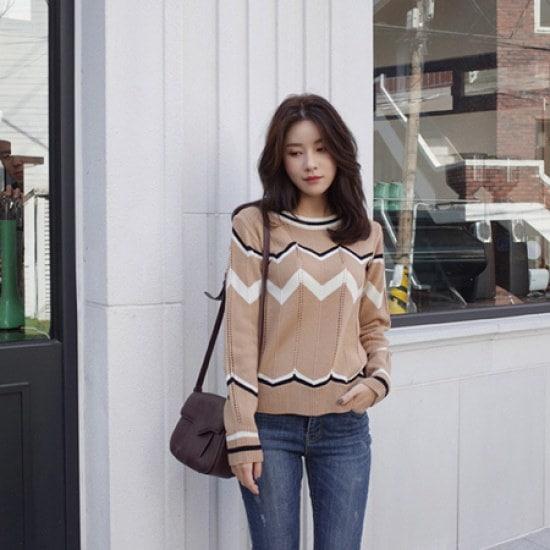 ミミ・アンド・ディディlabo knit8123 ニット/セーター/ニット/韓国ファッション