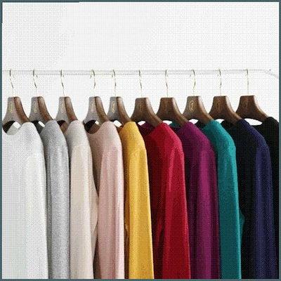 [ジェイ・ブラン][行き来するように/ジェイ・ブラン]袖ボタンポイントウールラウンドニット /ニット/セーター/ニット/韓国ファッション