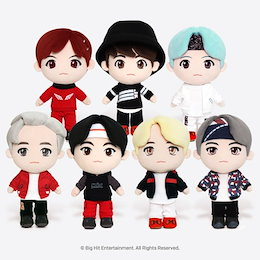 【BTS】 防弾少年団 公式グッズ ぬいぐるみ BTS MIC DROP 期間限定商品 CHARACTER DOLL LIMITED EDITION GOODS