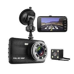 ドライブレコーダー デュアルドライブレコーダー 前後カメラ 1080P緊急録画 フルHD 1800万画素 170度広角 小型ドラレコ SONYセンサー/レンズ 8LEDIPS G-sensor