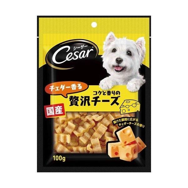 マースジャパンリミテッド CES2 シーザースナック チェダー香るコクと香りの贅沢チーズ 100g