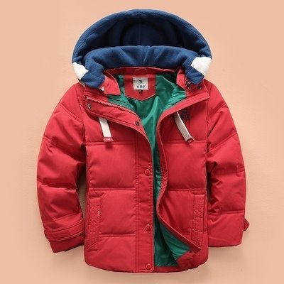 High Quality Baby Boys Autumn Winter Coats Thicken Warm Cashmere Kids Hooded Outerwear Children Down Parkas Jacket For Boys