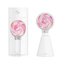 ★【電池付き】トゥワイス (TWICE) - 公式 ペンライト キャンディ棒 TWICE - Official Light Stick Candy Bong 新品
