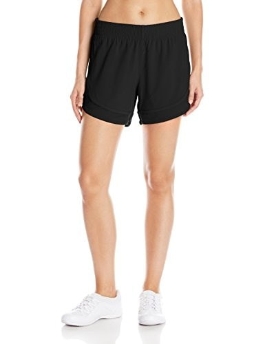 Lucy Womens Long Distance Short, Lucy Black, Large