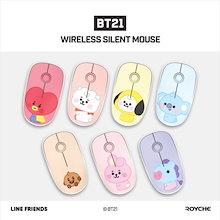 💜BT21公式💜BT21 WIRELESS SILENT MOUSE VER.2 BABY/ワイヤレス 静音マウス無線アクセサリー PC