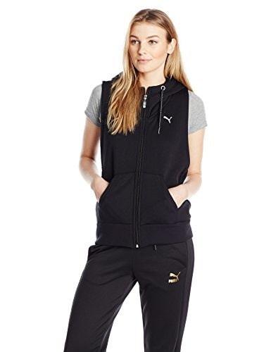 PUMA Womens Active Forever SL Jacket with, Black, Medium