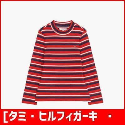 [タミ・ヒルフィガーキッズ][女児]ポリ混紡・ストライプモクネクティーシャツTGMS3KOL46A0 R67 ファッションアクセサリー/小物 / 韓国ファッション