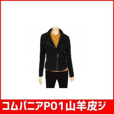 コムパニアP01山羊皮ジャゲッCA7W0-WLJ910[19446880915] /ライダージャケット/ジャケット/韓国ファッション