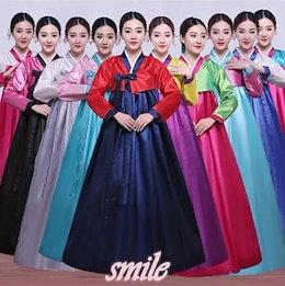 b47e81ae0ccd9 大人気 豪華 韓国風 民族衣装 チマチョゴリ おしゃれ コスプレ コスチューム 無地 ハロウィン 韓服 パーティー ドレス フォーマル
