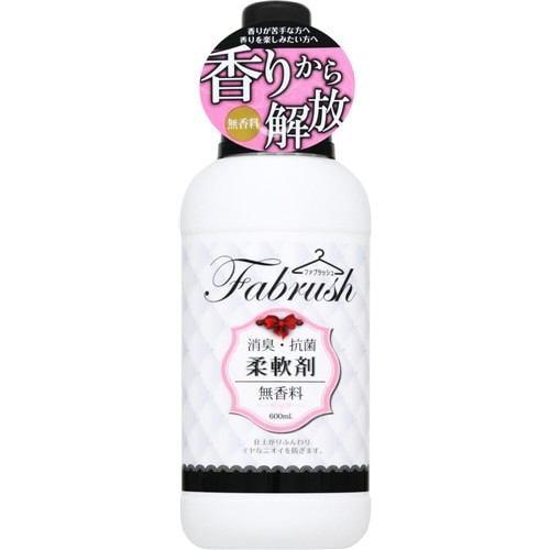 ファブラッシュ 柔軟剤 無香料 600ml
