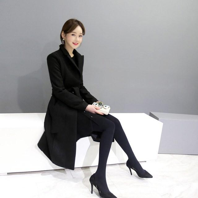 高級感あふれるOリングコートkorean fashion style