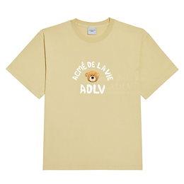 TWICE x ADLV Collaboration 2021 S/S Official TEDDY BEAR (BEAR DOLL) SHORT SLEEVE T-SHIRTS