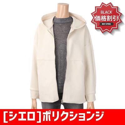 [シエロ]ポリクションジルーズフィットフードJP フード/ジップアップジャンパー/ 韓国ファッション