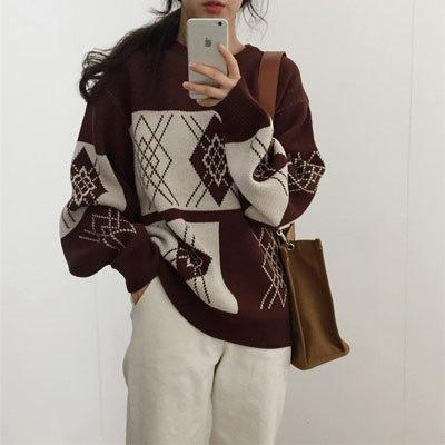 ♥送料無料で♥高品質♥韓国ファッション♥セーター、ニット、ニットスカート、ワンピース、コート、♥保温タイプ、欧米風、街の達人、韓国ファッション♥ゆとりの、修身、独特のデザイン