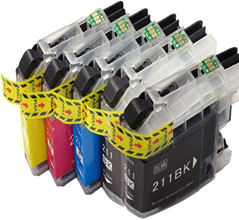 lc211 互換インク 4色 単品売り