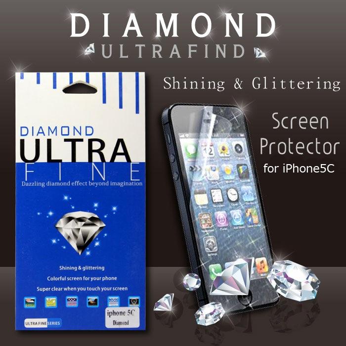 【在庫処分】iPhone5C 保護フィルム 1枚入りDiamond 保護フィルム 保護フィルム iPhone5C 送料無料