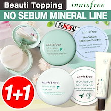 NEW★1+1★INNISFREE★ノセバームミネラルファクト/パウダー/ブラーパウダー/ No Sebum Mineral Powder/ Skin/ lotion[Beauti Topping]