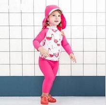 子供 女の子 水着 ラッシュガード 女児 長袖 キッズベビー服 水着 女の子 可愛い 花柄 紫外線対策 日焼け防止 温泉 旅行用80 90 100 110プール 海 水遊び