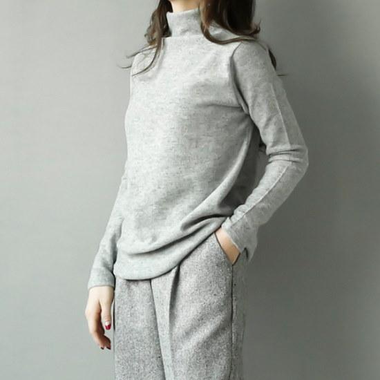 ビナインレートバンポルラティー ニット/セーター/タートルネック/ポーラーニット/韓国ファッション