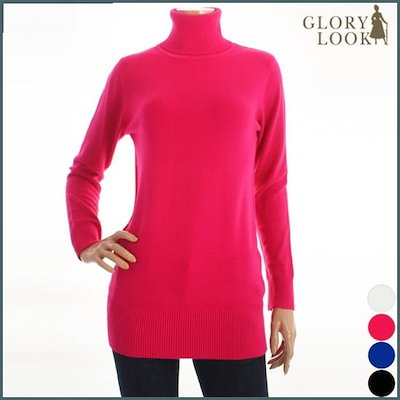 [グローリー・ルック]ロングポルラニトゥティーシャツLD4K1118 /ニット/セーター/ニット/韓国ファッション