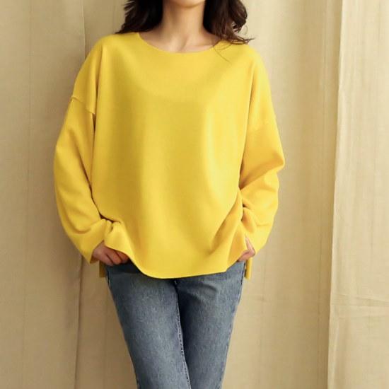 ビナインニックシンプルラウンドニットsrcLangTypeko ニット/セーター/ニット/韓国ファッション