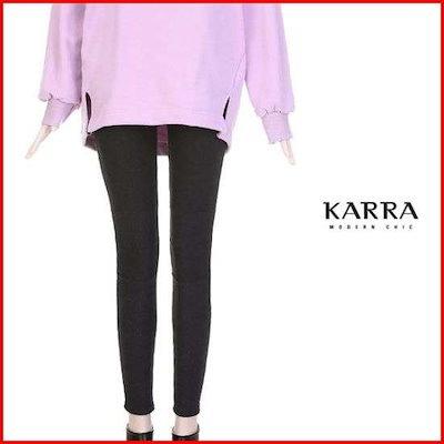[カラー][ハーフクラブ/カラ]KARRA(77まで)ドトムの起毛アンガムコッラインバンディング・パンツKBIWPT038A /パンツ/面パンツ/韓国ファッション