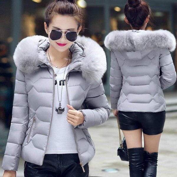 New Winter Fashion Korean Hooded Down Jacket (Size S-3xl).