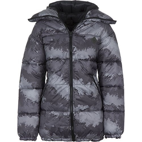 Burton Logan Insulated Jacket - Womens True Black Oil Camo, L