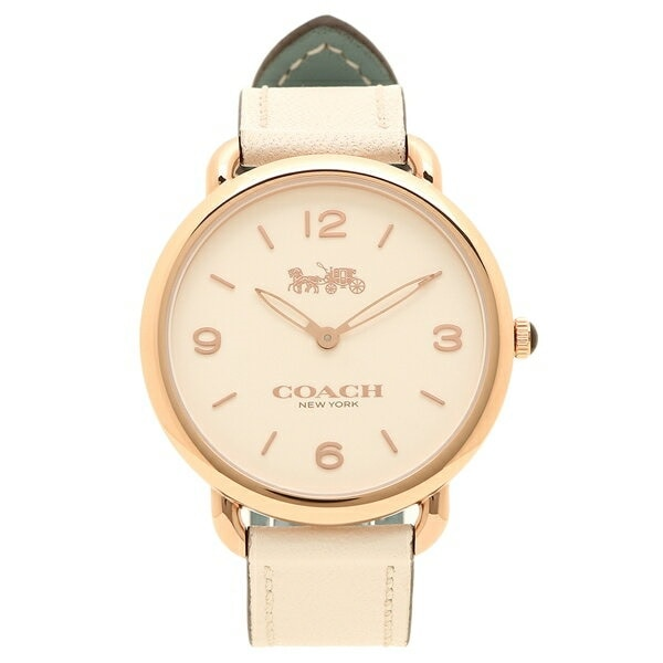 f9e79f3f0467 コーチ 時計 レディース COACH 14502997 DELANCEY デランシー レディース腕時計ウォッチ ホワイト/ローズゴールドの画像