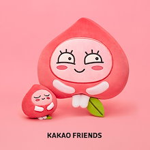 【Kakao friends】カカオフレンズアピーチブロッサム縫いぐるみ/APEACH blossom face cushion and mini doll/2種・KAKAO FRIENDS正規品