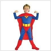 407d44732b0a6b 子供服 キッズコスチューム スーパーマンコスプレ 男の子 コスプレ ハロウィン キャラクター コスプレ 衣装 コスチューム ハロウィン 衣装