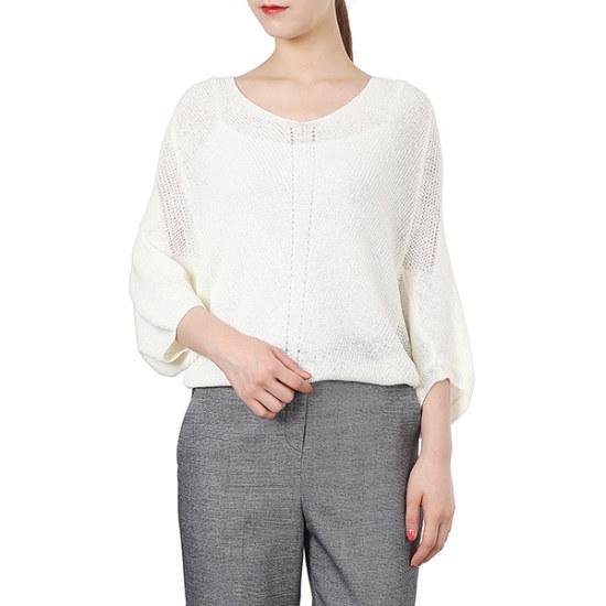 プラスチックアイルランドパクシニートPH2KL481 ニット/セーター/韓国ファッション