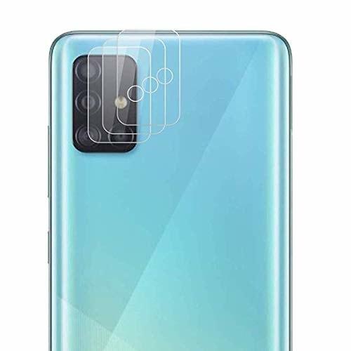 QULLOO Samsung Galaxy A51 カメラガラスフィルム 強化フィルム 日本旭硝子材 100%高透過率 指紋防止 耐衝撃 飛散防止 カメラ Galaxy A51 保護フィルム