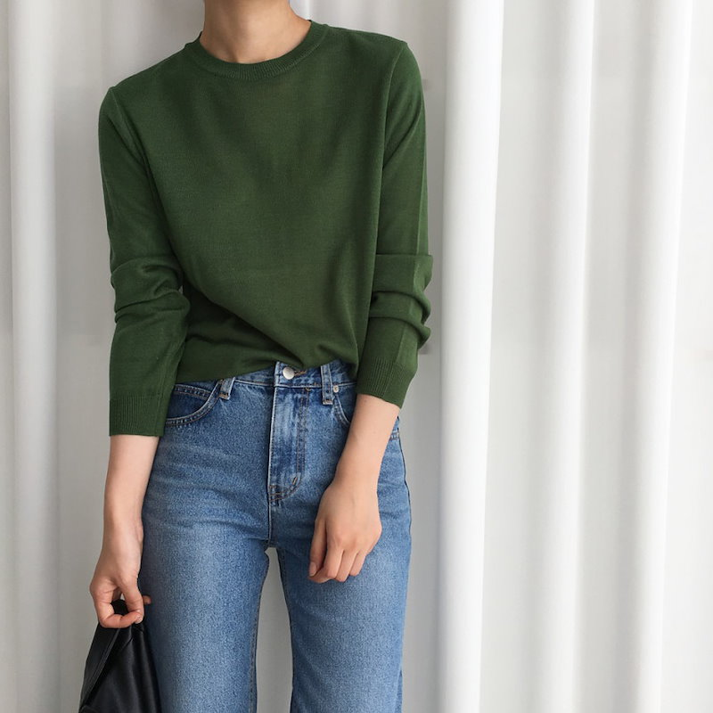 [ラルム】企画ワナビーニット7col korea fashion style