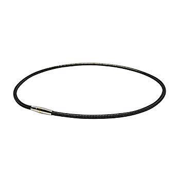 ファイテン(phiten) ネックレス RAKUWA 磁気チタンネックレス メタルトップ 50cm