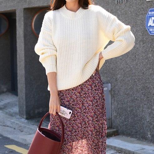 さらにムードG367シュガーマカロンニットkorean fashion style