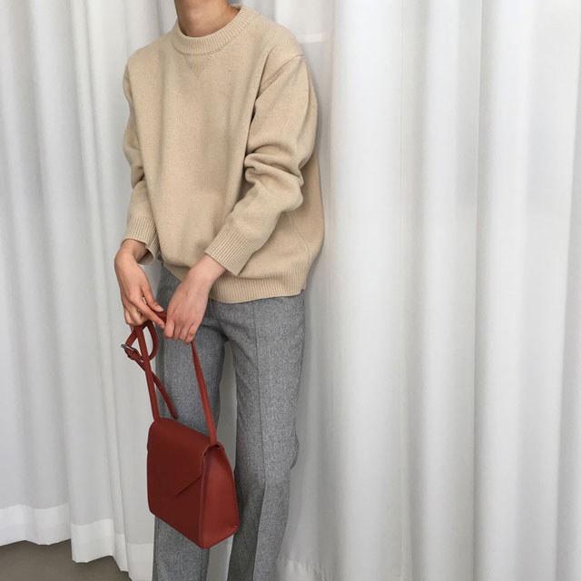 [ラルム】マカロンニット4col korea fashion style