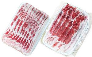 【お徳用焼肉セット】仙北市産αリノレン酸虹の豚 2.2kg