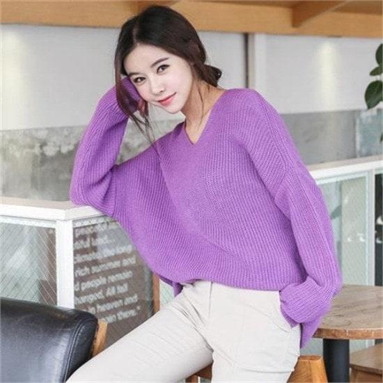 ・ジュード・ヴィヴィアン行き来するように・ジュード・ヴィヴィアンデイリーロング・ニット ニット/セーター/ニット/韓国ファッション
