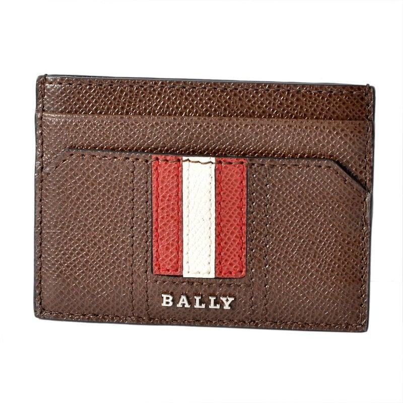 Bally バリー THAR.LT 11 6218032 バリーストライプ カードケース 名刺入れ
