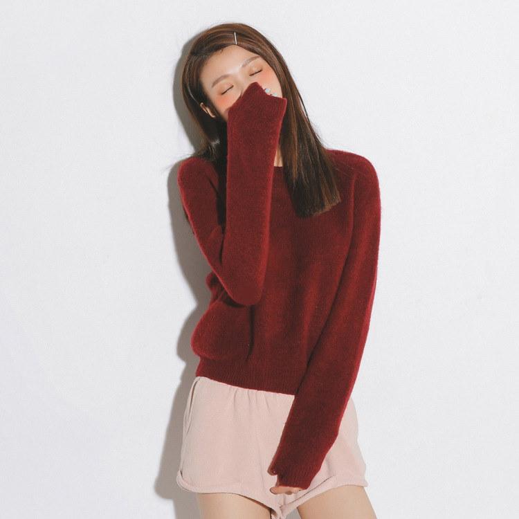 【送料無料】春夏 2017 新作 レディース Tシャツ 長袖無地 韓国ファッション パーティー 二次会 女子会A297