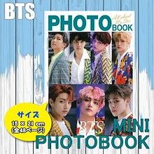 【無料発送】 ミニ フォトブック 写真集 Mini Photo Book 150x210mm SIZE (48p) / BTS TWICE SEVENTEEN WNNAONE EXO / KPOP