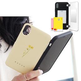 カード収納ケース iPhone 12mini 韓国 花道 韓国語 シンプル 花柄 花束 ハングル