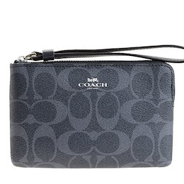 2d593d79405ce6 COUPON · コーチ COACH ポーチ リストレット シグネチャー アウトレット f57996svm2q