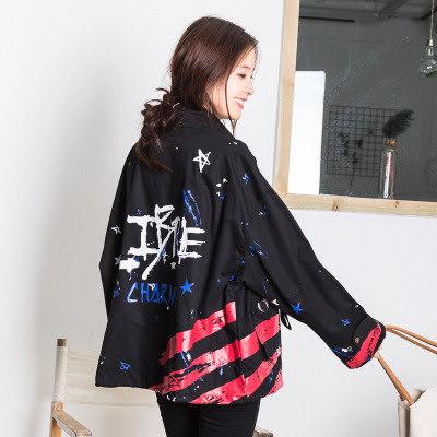 モーズコート ミリタリーコート ジャケット 迷彩柄 立て襟 ジャンパー ゆったり 体系カバー カジュアル 秋物 新作